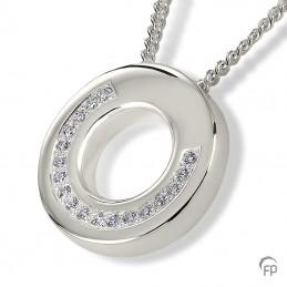 Zilveren Ashanger 'Ring'