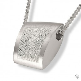 Zilveren Fingerprint...