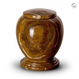 Grote Marmeren Urn bruin beige