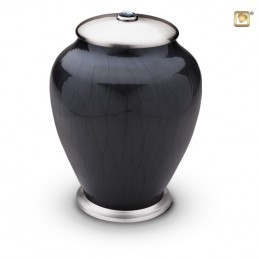 Messing Urn 'Simplicity Black'