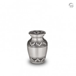 Metalen Mini Urn Zilver met...