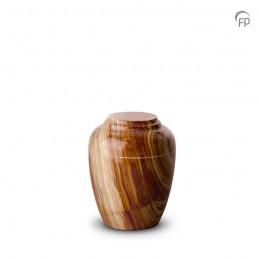 Marmeren Mini Urn beige
