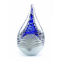 Glazen Memorie Urn 'Druppel...