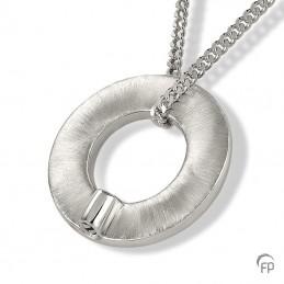 Zilveren Ashanger 'Grote...
